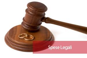 Spese legali addebito separazione